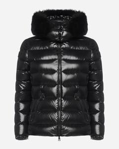 Badyfur quilted nylon down jacket