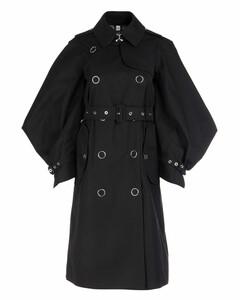 Black gabardine trench coat Nd Burberry Donna