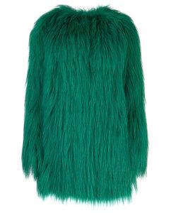 Green fur Nd Prada Donna