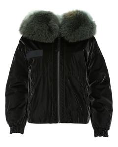 Black vinyl down jacket Nd Mr&mrs Italy Donna