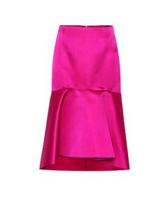 丝缎半身裙