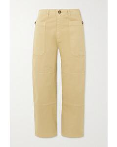 针织高腰中长半身裙
