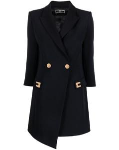 Military Overcoat in Wool