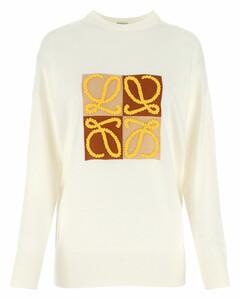 White wool sweater Nd Loewe Donna