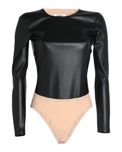 Bow coat in pink