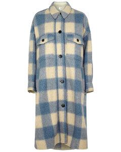 Fontizi checked flannel coat