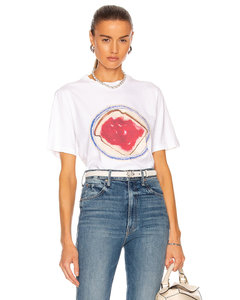 Jam Print T-Shirt in White