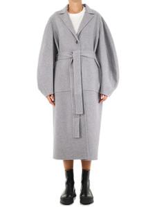 Circular Sleeve Belted Coat
