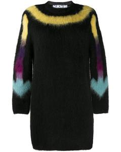 Arrows knitted mini dress