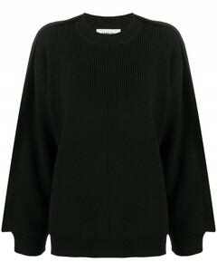 Ribbed wool jumper