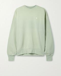 Oversized Appliquéd Cotton-jersey Sweatshirt