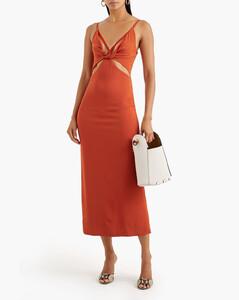 Net Sustain Carolyn Organic Linen-blend Gauze Maxi Dress