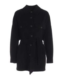 Breda coat in black