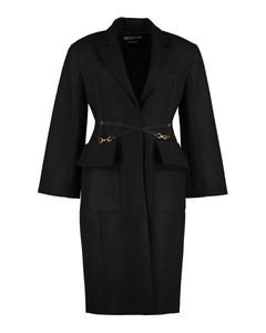 Soco Cross-Strap Detailed Coat