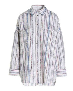 Hooded down jacket with logo