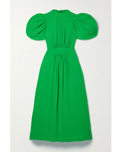 Women's Indigo Tencel Slip Dress - Mid Indigo