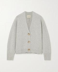 Zanzibar Mélange Wool And Cashmere-blend Cardigan