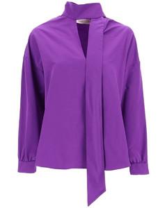 Leather Down Filled Long Jacket Black