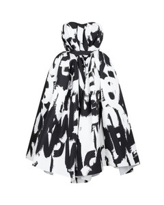 Pinstriped straight-leg wool trousers