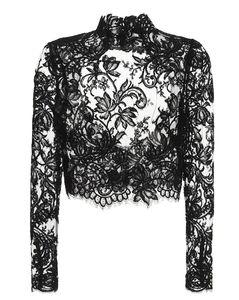 花卉蕾丝上衣