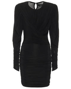 Ghita stretch-jersey minidress