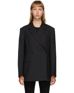 黑色Loreo西装外套