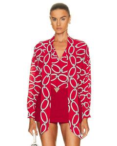 窗格紋風衣感半身裙