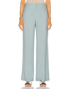 Long Masculine Trouser in Blue