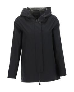 Wesley褶裥皮革中长半身裙