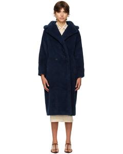 side-stripe hooded coat