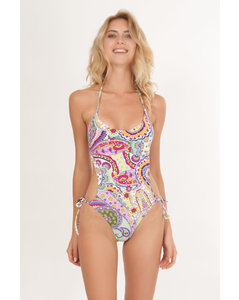 Cynthia cropped knitted wide-leg trousers