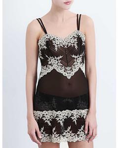 棕色Break骆驼毛长裤