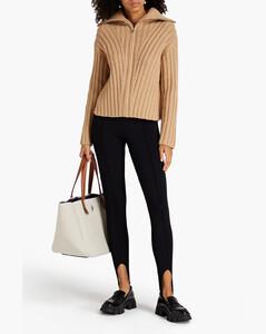 safety-pin detail coat