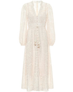 Exclusive to Mytheresa–Lace midi dress