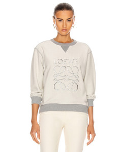 Anagram Sweatshirt in Gray