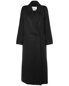 Double Breasted Cashmere Long Coat