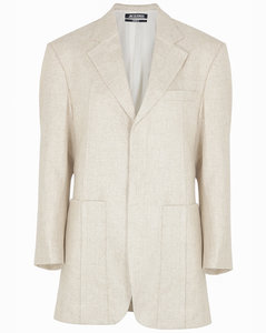 La Veste D'Homme wool-blend blazer