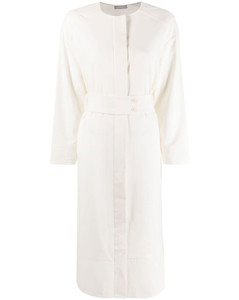Stripe Detachable Shirts Dress