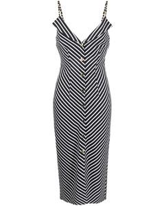 Edra bleached-pattern cotton-jersey T-shirt