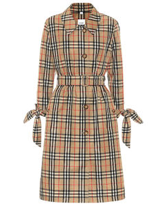 Claygate Vintage Check风衣