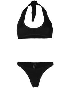Satin logo sweatshirt