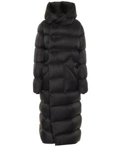 Liner绗缝羽绒大衣