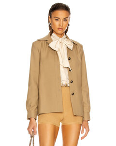 衬衫式夹克