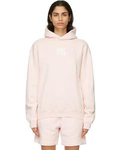 粉色Puff Logo连帽衫