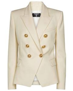 Mytheresa发售 — 羊毛双排扣西装式外套