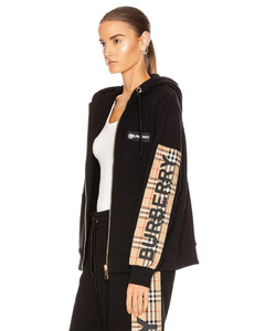 Aubree Hooded Jacket in Black