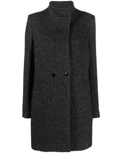 Bendix wide-leg wool-blend hopsack suit trousers