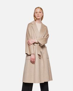 LABBRO PURE CASHMERE BELTED COAT