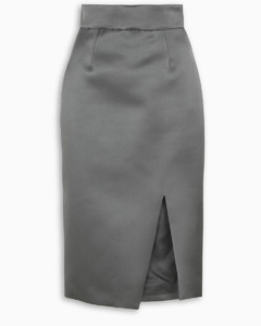 Front slit pencil skirt
