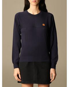 crewneck sweater with mini Tiger Paris logo